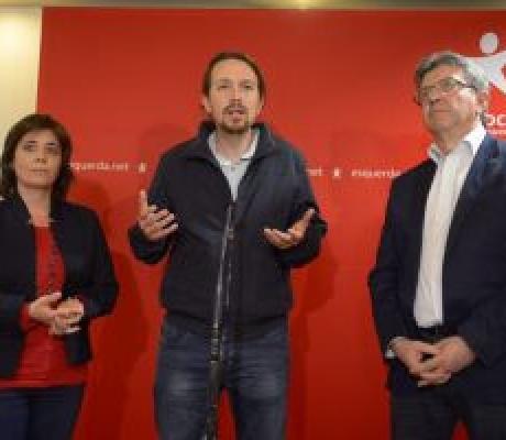 """""""Una rivoluzione democratica in Europa"""": la proposta di Martins, Mélenchon e Iglesias"""