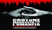 8 dicembre: Crotone manifesta per l'Umanità