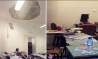 Ostuni: crolla il soffitto di una scuola elementare