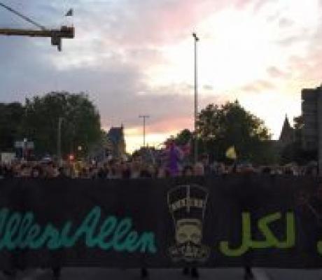 Amburgo: diario dalle mobilitazioni contro il g20