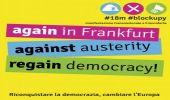 Blockupy: la diretta della mobilitazione transnazionale a Francoforte