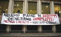 Sentenza Cota: l'appello degli studenti della mensa liberata